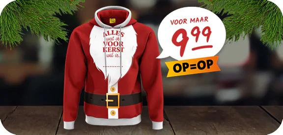Kersttrui Jumbo deel opbrengst stichting Make-A-Wish Nederland