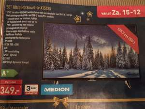 "50"" Medion Ultra HD Smart-tv bij Aldi"