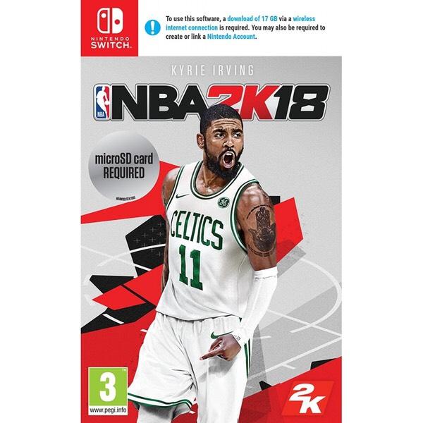 NBA 2K18 Nintendo Switch spel + gratis verzending @Shop4NL