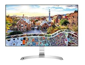LG 27MP89HM-S.AEU Monitor LED IPS, Full HD 1920x1080, 5ms, AMD FreeSync 75Hz, 2x HDMI, 1x VGA @ Amazon.it