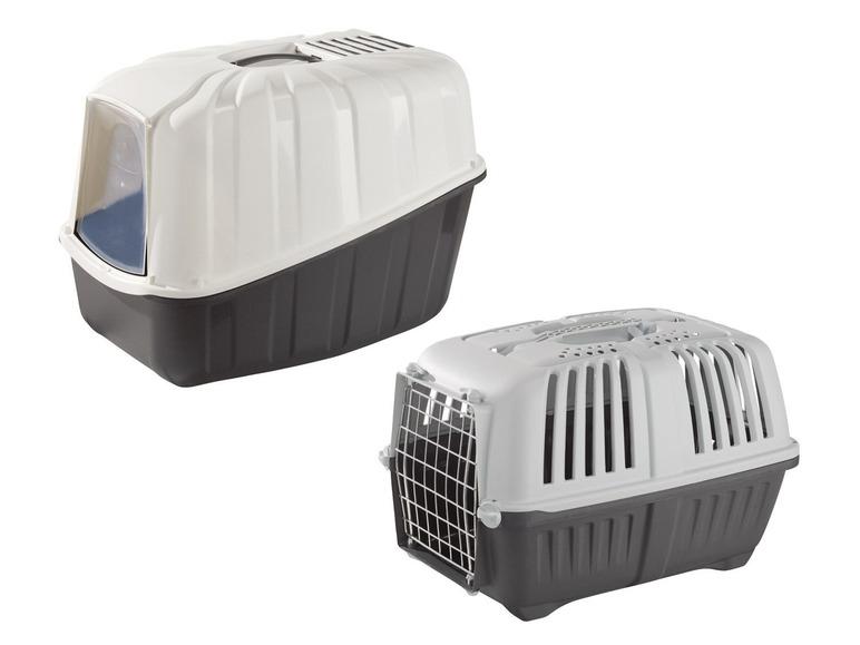 ZOOFARI kattenbak of transportbox voor €9,99 @ Lidl-shop.nl