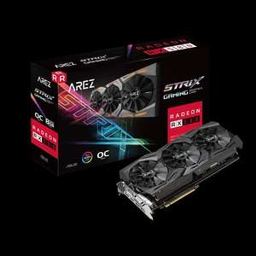 Asus ROG STRIX Radeon RX 580 8GB GAMING OC + 2 spellen
