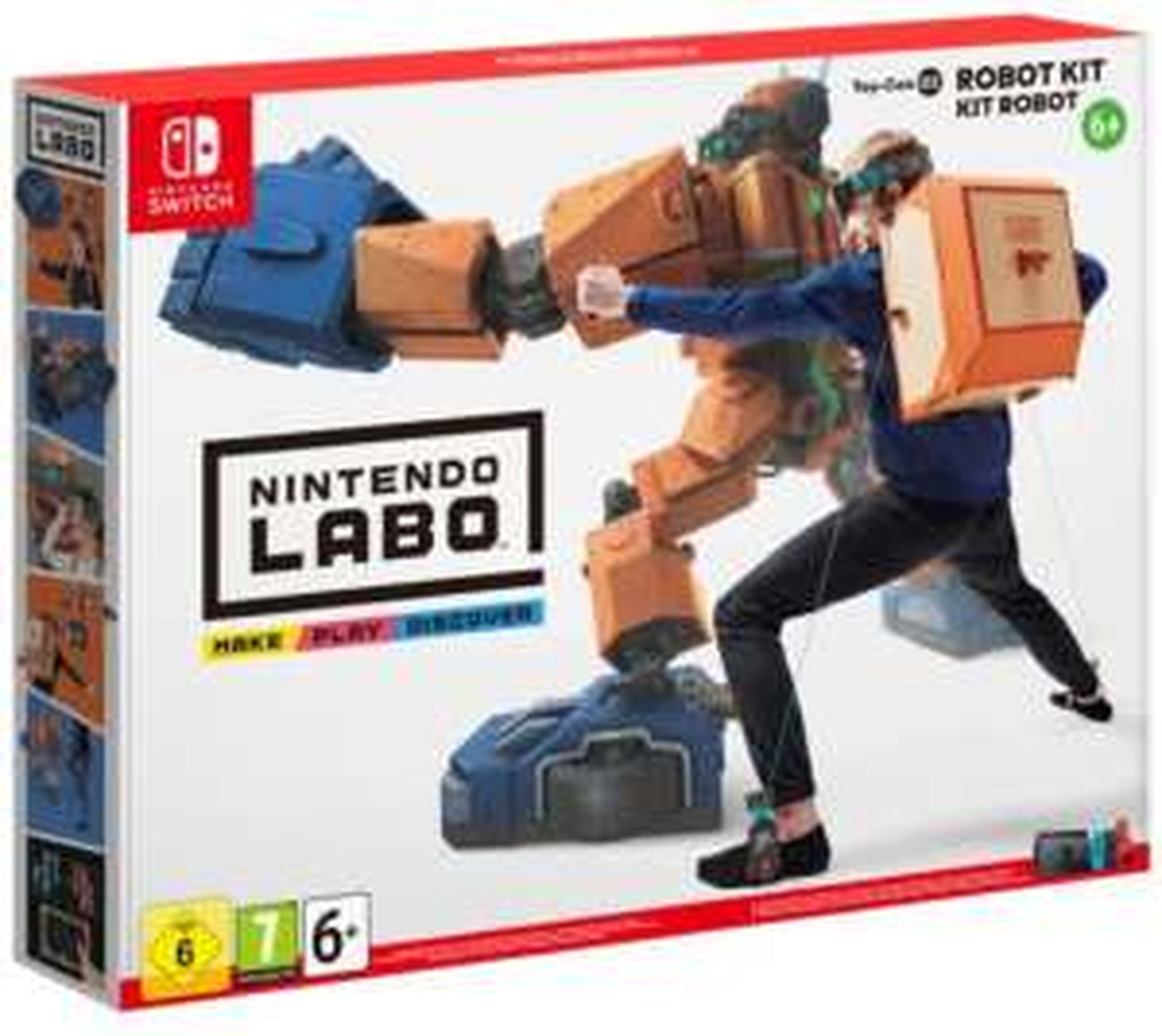 Nintendo Labo - Robotpakket (Toy-Con 02) voor €39 @ Gameshop Twente