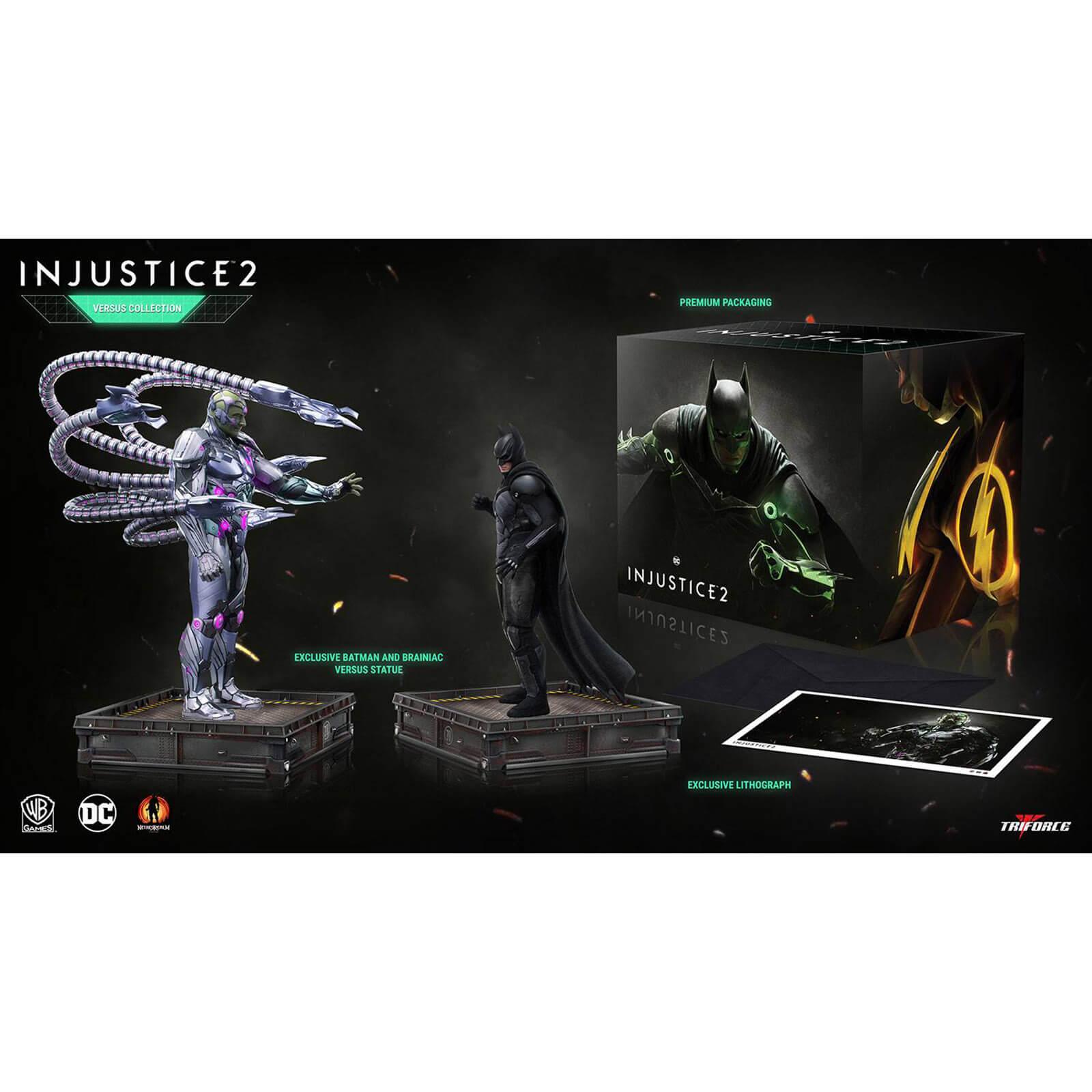 TriForce DC Comics Injustice 2: The Versus Collection voor €39,89 @ Zavvi