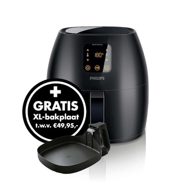 Philips HD9247/90 Airfryer XL zwart + bakplaat @Expert.nl