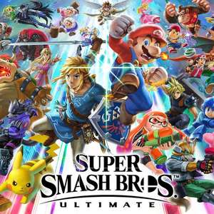 Super Smash Brothers Ultimate voor €54,99 met € 7,00 bonus eShop tegoed [digital Eshop code]