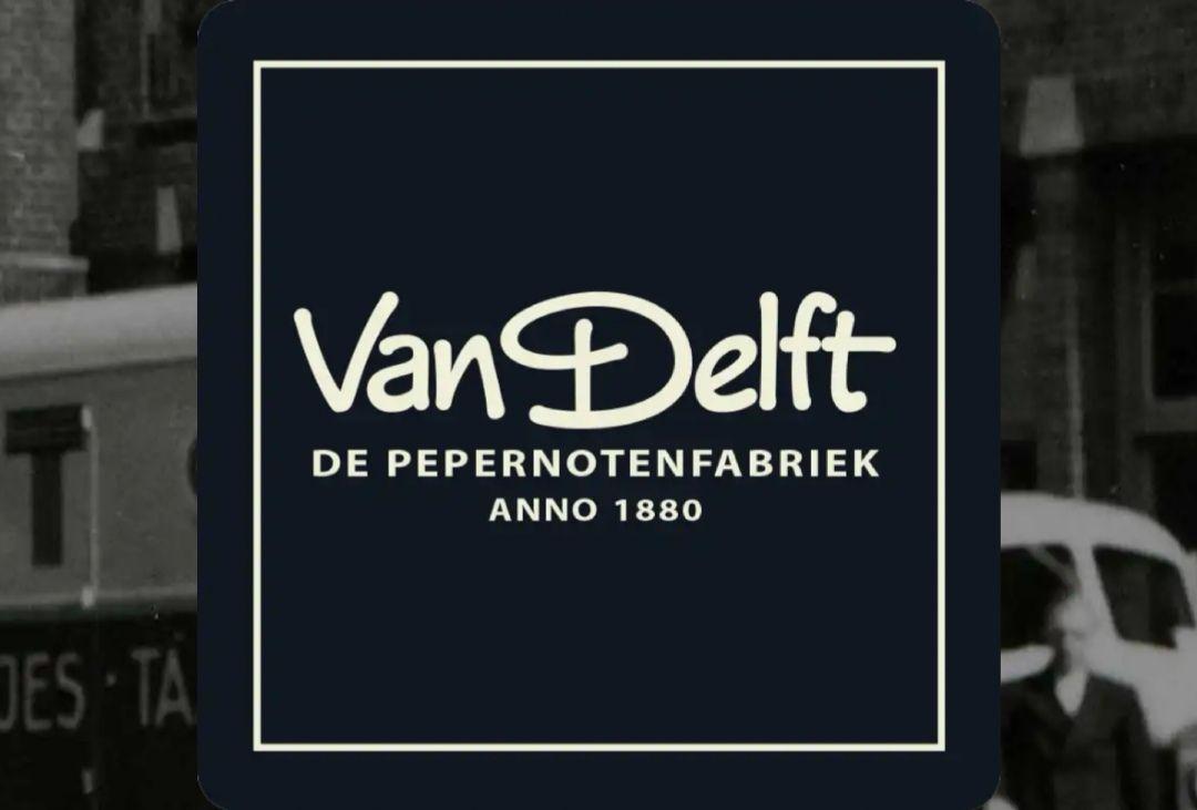 Van Delft Pepernotenfabriek: 1+1 gratis op alle zakken pepernoten in de winkel (50% korting)
