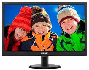 Philips 193V5LSB2 monitor voor € 69,98 @ Pixmania
