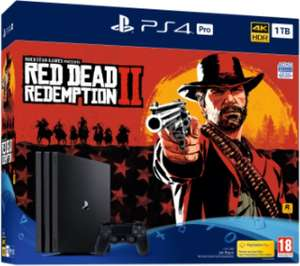 PlayStation 4 Pro + Red Dead Redemption 2 voor €338 @ Nedgame
