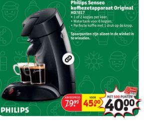 Philips Senseo HD7810 Original met 500 punten €40 @ Kruidvat