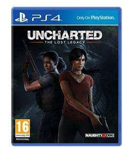 Uncharted: The Lost Legacy voor €14,40 @ Amazon.co.uk