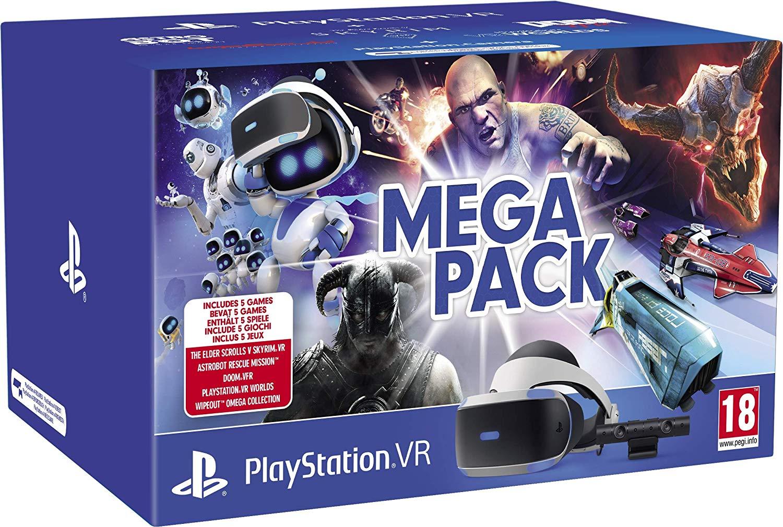 Sony Playstation VR V2 Mega Pack met 5 games voor €259,20 @ Amazon.fr