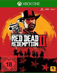 Red Dead Redemption 2 (Xbox One) voor €42,77 @ Amazon.de