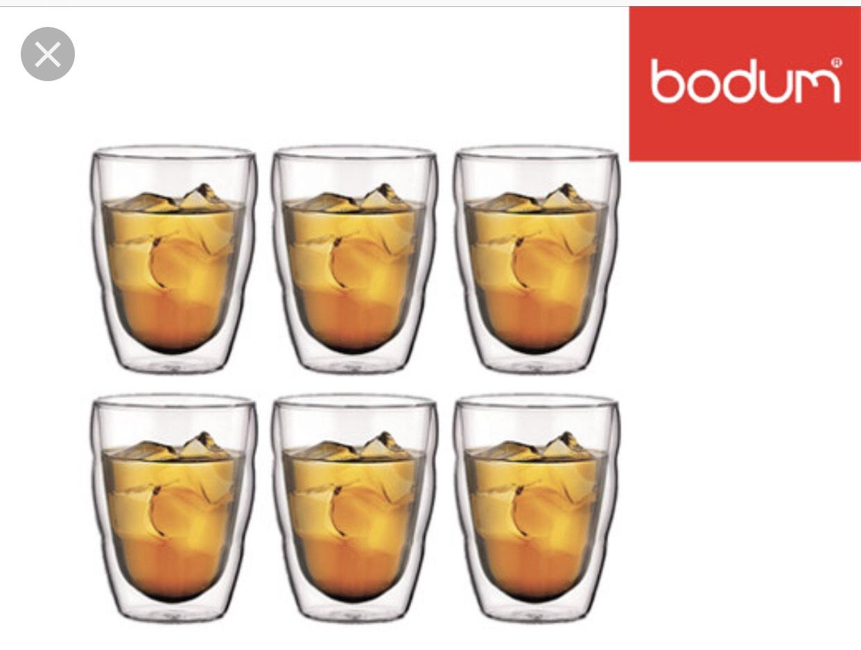 Bodum - Dubbelwandige glazen