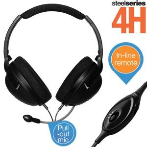 Steelseries Steelsound 4H gaming headset voor € 25,90 @ iBOOD