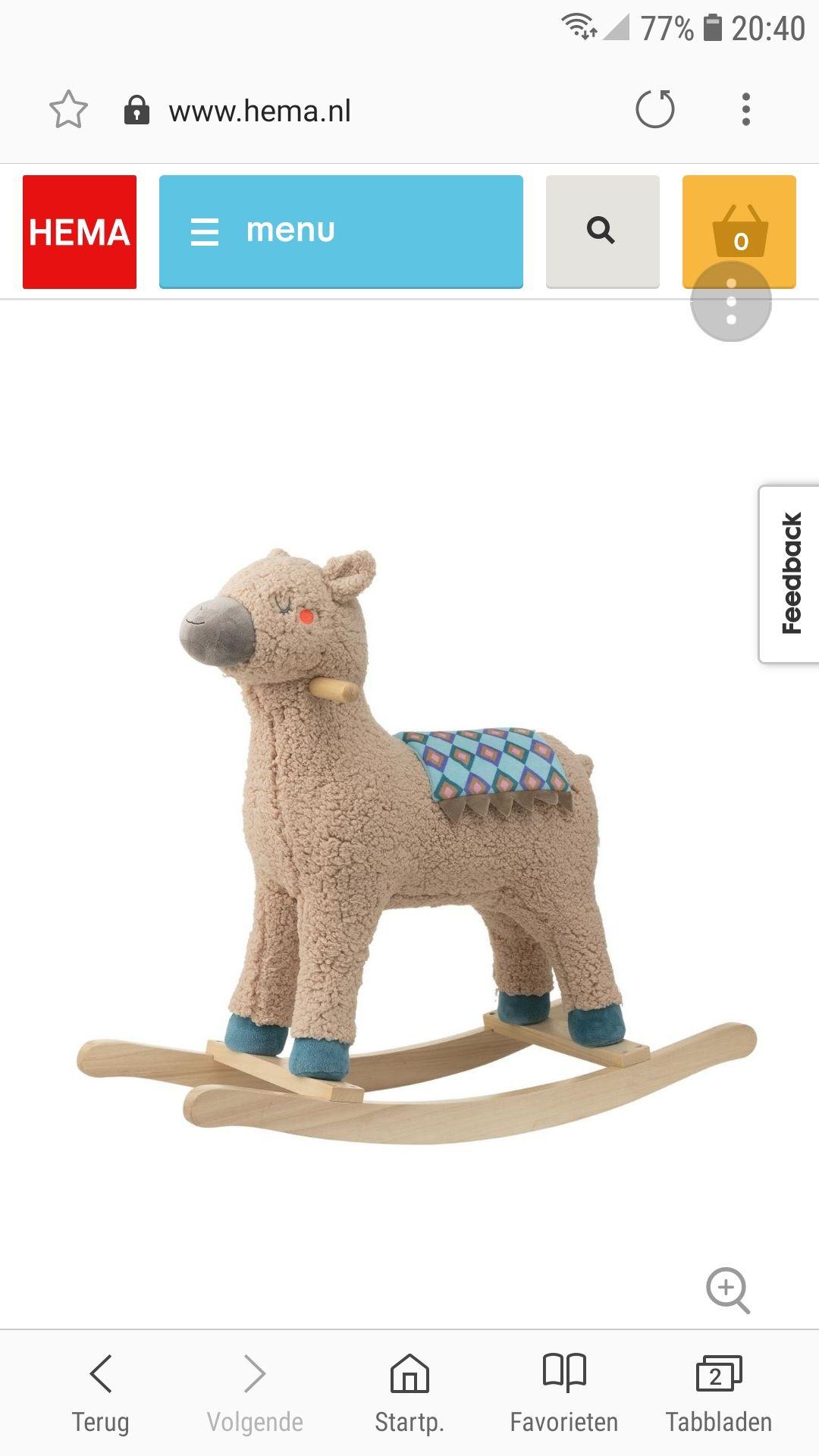 Alpaca Hobbelpaard