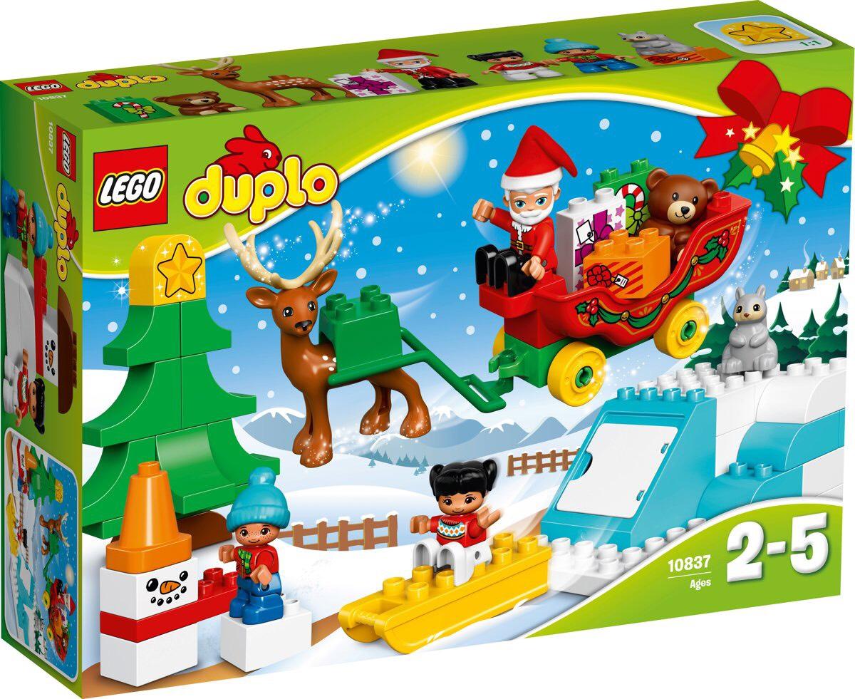 Duplo - Wintervakantie van de Kerstman 10837