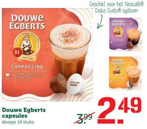 Douwe Egberts ( Dolce gusto cups ) @ Coop