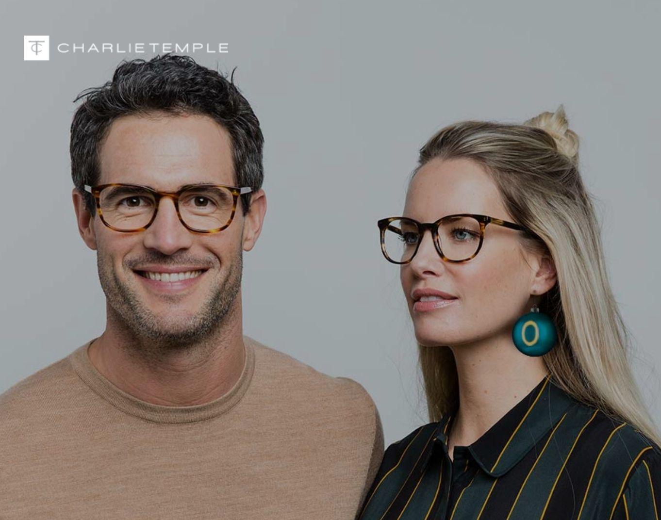Gratis luxe brillencase t.w.v. € 7,99 bij een bril @ Charlie Temple