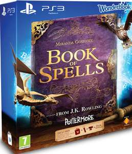 Playstation Move Starters Pack (PS3) + Wonderbook: Book of Spells voor € 25 @ Dixons