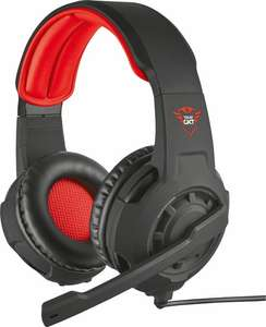 Trust GXT 310 Radius - On-ear Gaming Headset (PC + PS4 + Xbox One) - Zwart/Rood