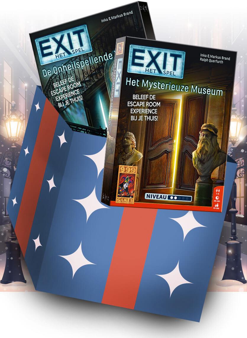 2 Exit spellen van 29.98 voor 20 euro met gratis verzending