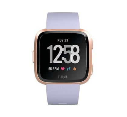 Fitbit Versa Rose Gold/Periwinkle - voor €149 @ Coolblue.nl