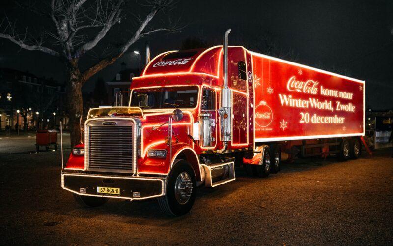 Locaties Coca Cola truck met gratis cola