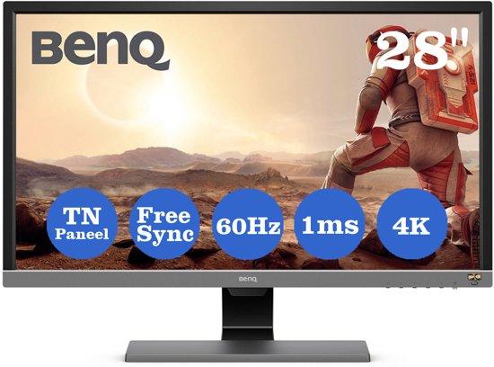 BenQ EL2870U, 4K HDR Gaming Monitor voor €279 @ Bol.com