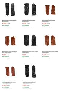 Diverse Royal Republic leren handschoenen (dames / heren) -80% @ fonQ