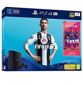 Ps4 pro 1TB met Fifa 19 en 14 dagen ps plus