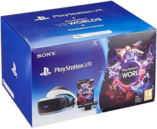 Playstation VR V2 + Camera V2 + VR Worlds @ Amazon.de