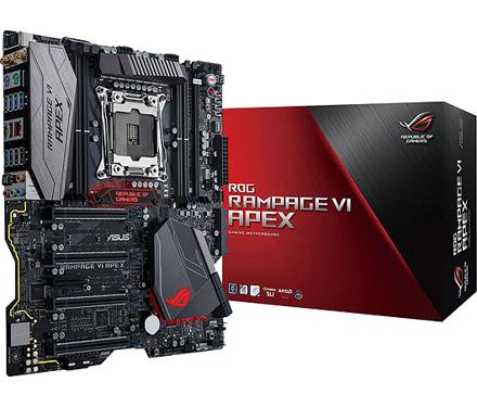 ASUS RAMPAGE VI APEX 2066 - voor €299 @ Mycom.nl