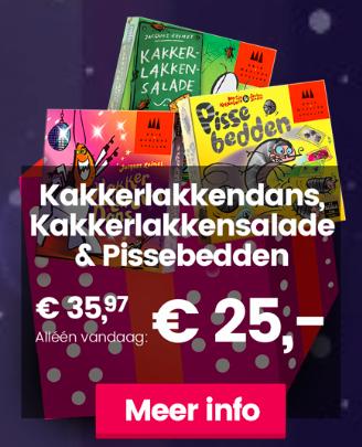 Kakkerlakkendans, Kakkerlakkensalade & Pissebedden voor €25 (advent kalender 999games)