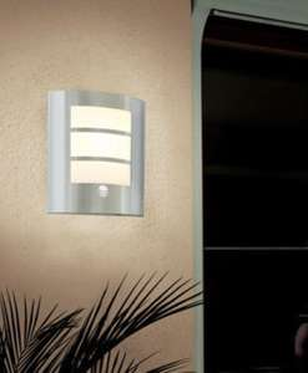 [Prijsfout] EGLO RVS wandlamp met sensor
