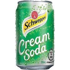 Schweppes Cream Soda voor €0,66 per blikje @ Amazing Oriental