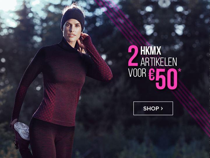 Actie: 2 HKMX sportartikelen voor €50 @ Hunkemöller