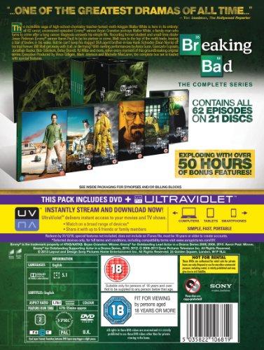 Breaking Bad: The Complete Series (DVD) (21 discs) voor €54,98 @ Amazon.co.uk