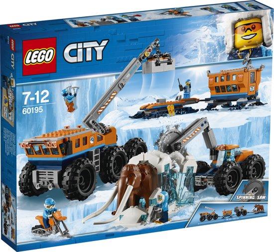 LEGO City Arctic Mobiele Onderzoeksbasis op de Noordpool - 41% korting
