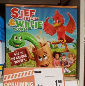 Intertoys kinderspel Sjef en willie (alleen in de winkel)