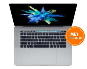 Macbook Pro 15 inch. Incl touchbar. Van €2699,- naar €1849,-