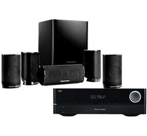 Harman Kardon AVR 171 + HKTS 9 voor €599 (+ gratis Omni 10 speaker t.w.v. €199) @ Coolblue