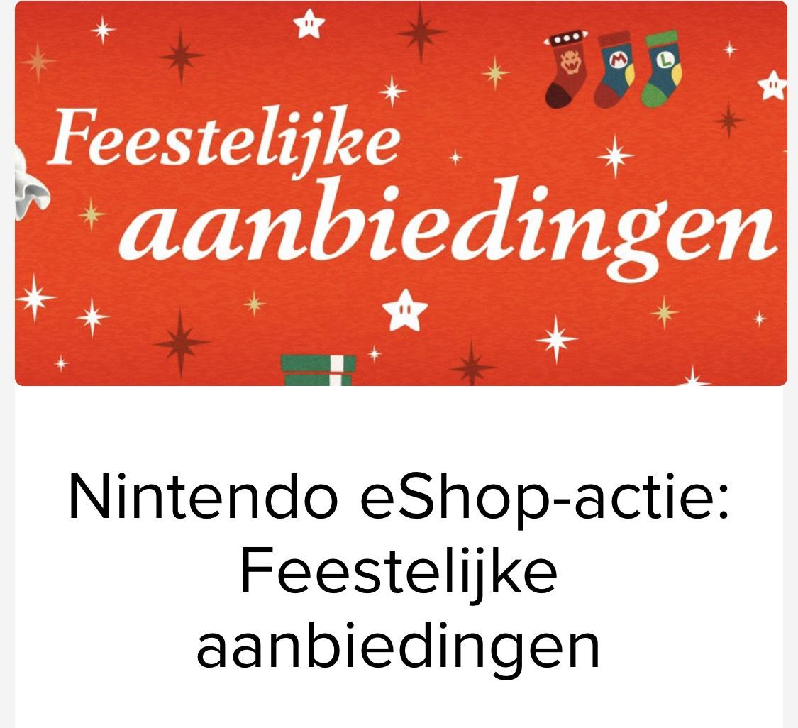 Nintendo eShop-actie