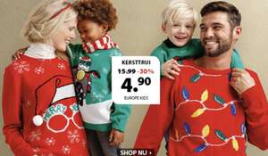 Kersttruien (volwassenen €6,30) Kinderen (€4,41) @ Ter Stal