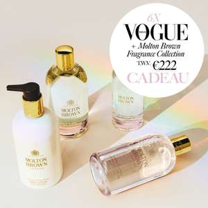 VOGUE. Molton Brown Jasmine & Sun Rose Fragrance Collection