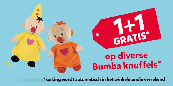 1+1 gratis op Bumba knuffels @Intertoys
