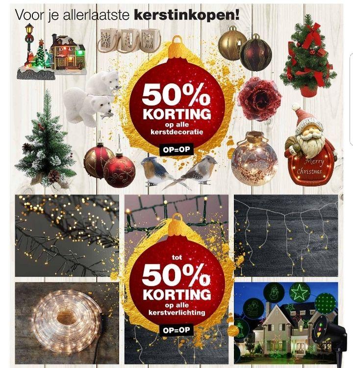 @Praxis, 50% op kerstdecoraties, tot 50% op kerstverlichting