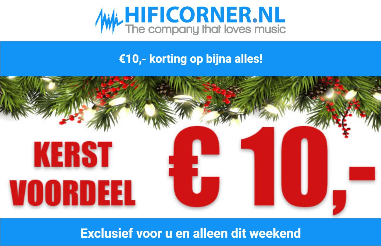 €10,- korting op alles vanaf €50 voor de eerste 100 klanten @ Hificorner
