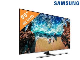 "SAMSUNG 55"" 4K TV (UE55NU8000)"