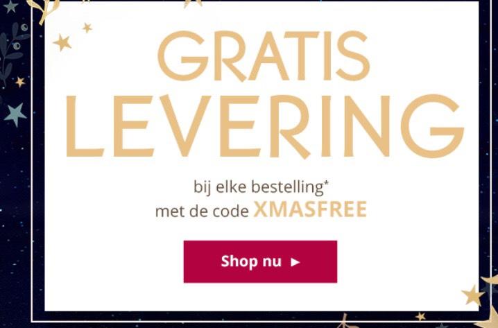 Yves Rocher gratis levering, 50% korting op parfum en gratis horloge met Swarovski kristallen bij besteding van €40.